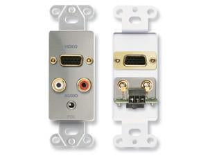 DS-AVM4 Audio and Video Monitor Jack Panels