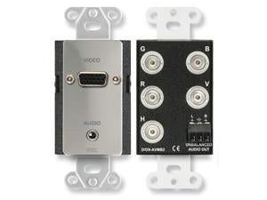 DS-AVMB2 Audio and Video Monitor BNC Panels