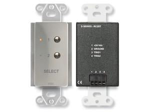 DS-RC2ST 2 Channel Remote Control for STICK-ON - Remote selection of audio or video sources