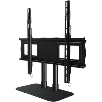 "Single desktop stand for 32"" to 65""+ screens"