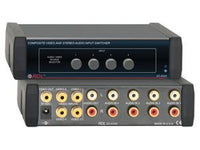 EZ-AVX4 Composite Video and Stereo Audio Input Switcher - 4X1