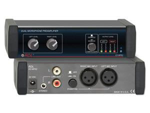 EZ-MPA2 Dual Microphone Preamplifier - Stereo Output with Compressors