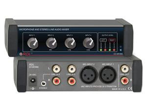EZ-MX4ML Mic and Stereo Line Audio Mixer - 4X1