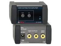 EZ-VDA2R Video Distribution Amplifier - 1X2 RCA NTSC/PAL