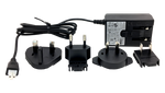 Brightsign Series 2 XD and 4K player replacement power supply, includes international adapters
