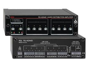 RU-ADA4D Audio Distribution Amplifier