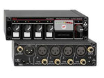 RU-MX4L Professional 4 Channel Line Level Mixer - Microphone and line Output