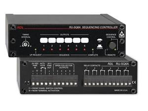 RU-SQ6A Sequencing Controller - Power up, power down