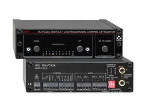 RU-VCA2A Digitally Controlled Attenuators