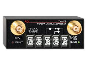 TX-VCR Video Controlled Relay - BNC