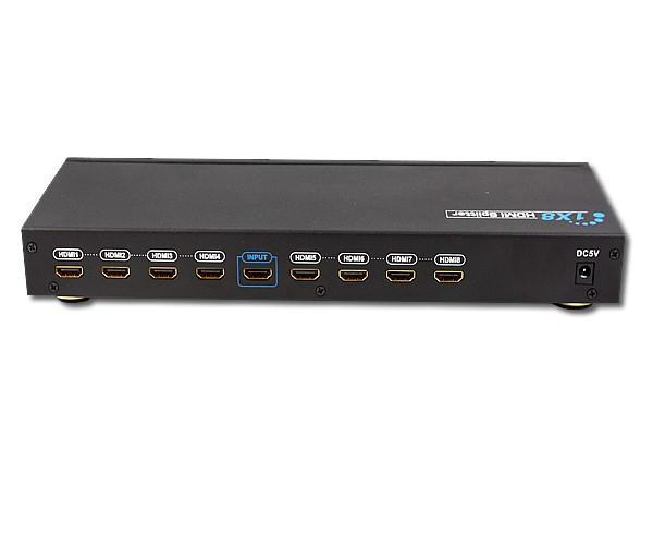 HDMI 1.3 - 3D Splitters - 8 Out