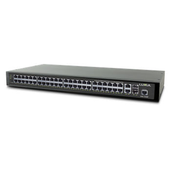 52-Port Stackable Gigabit PoE+ L2/L3 Managed Switch   HDIP