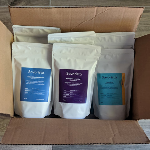 Savorista wholesale decaf