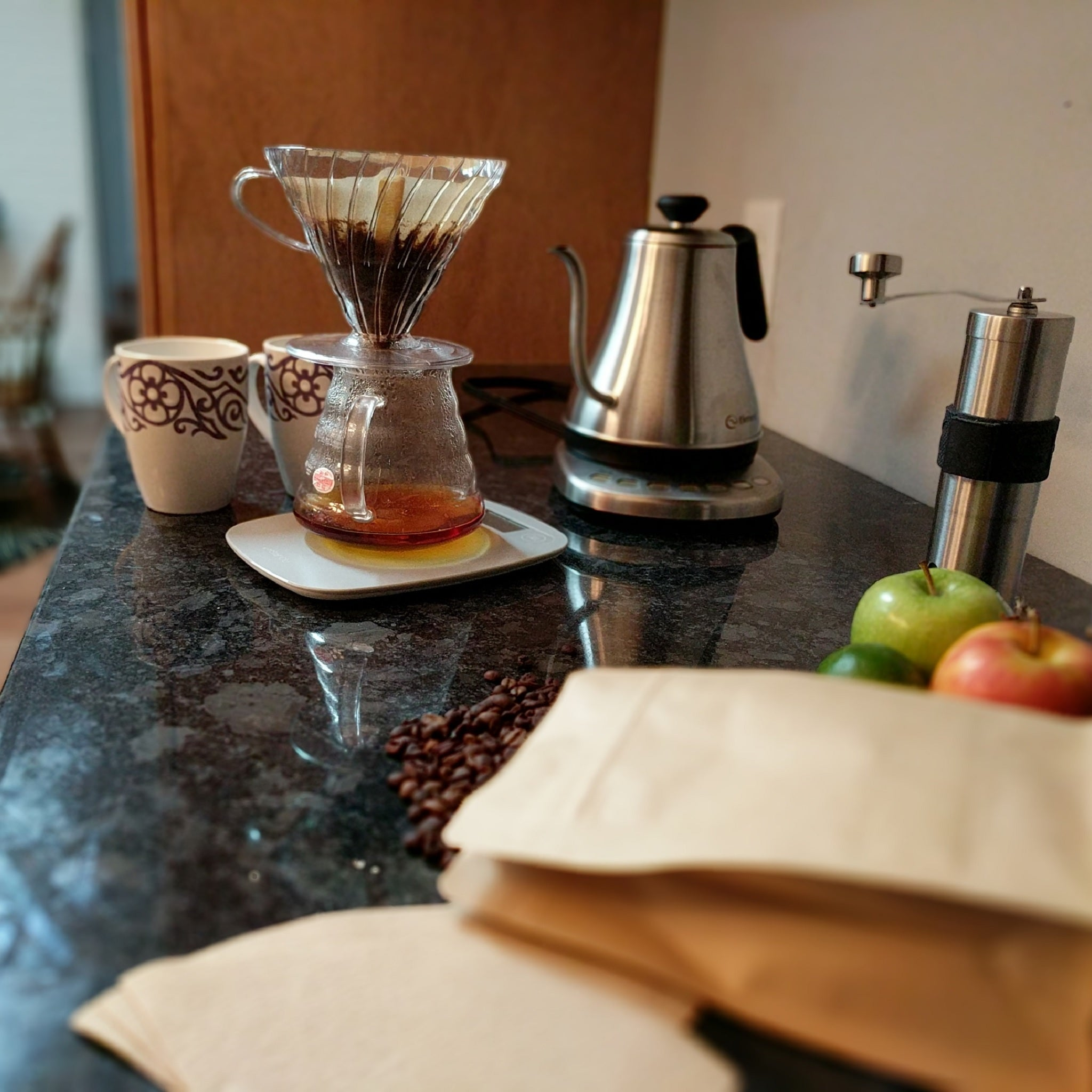 Decaf pour over