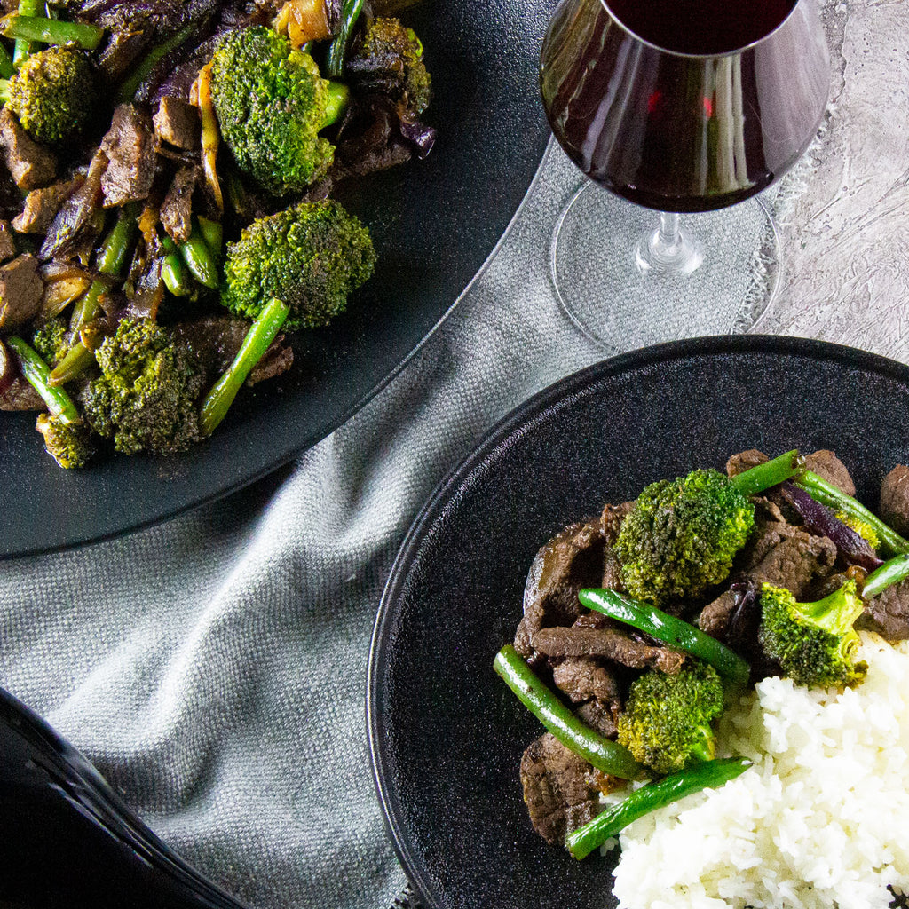 Beef Stir-fry with Plum Sauce