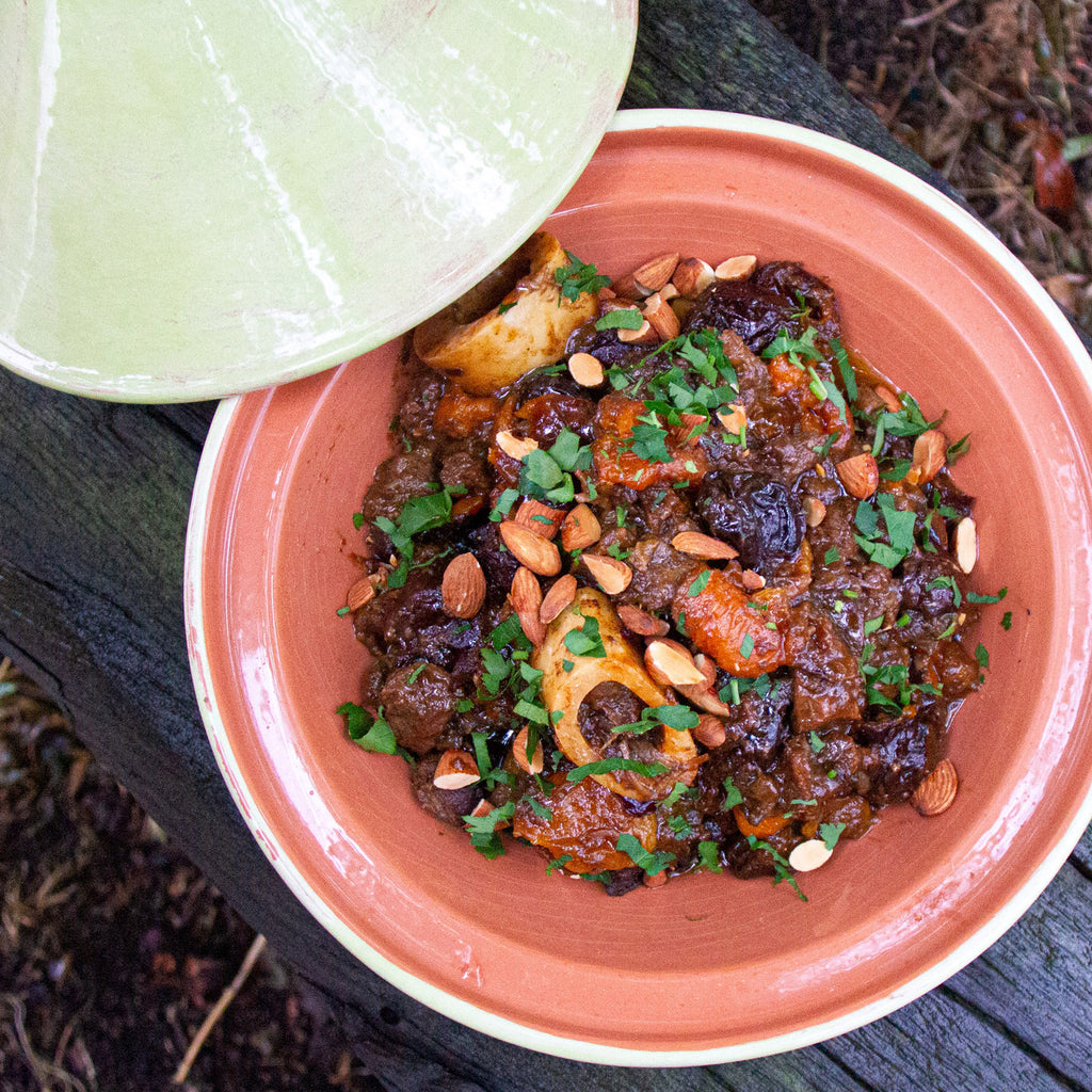 Beef Tagine with Spiced Pear Paste