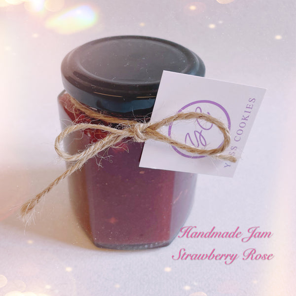 Strawberry Rose Jam 190g