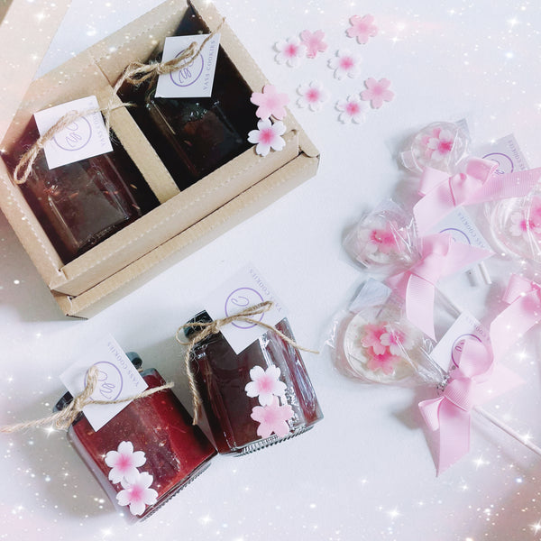 Floral Fruit Jam Gift Box
