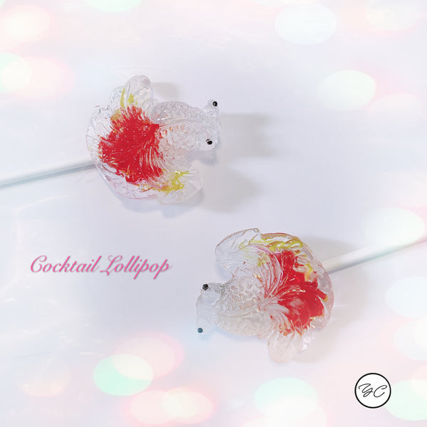 CNY Edition Cocktail Lollipops