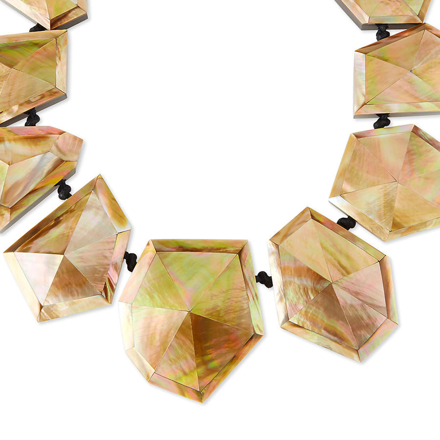 STARDUST MOP NECKLACE BLUSH MOP