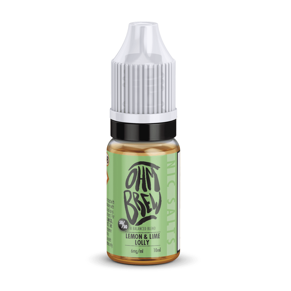 Lemon and Lime Ice Lolly Nic Salt E-liquid by Ohm Brew