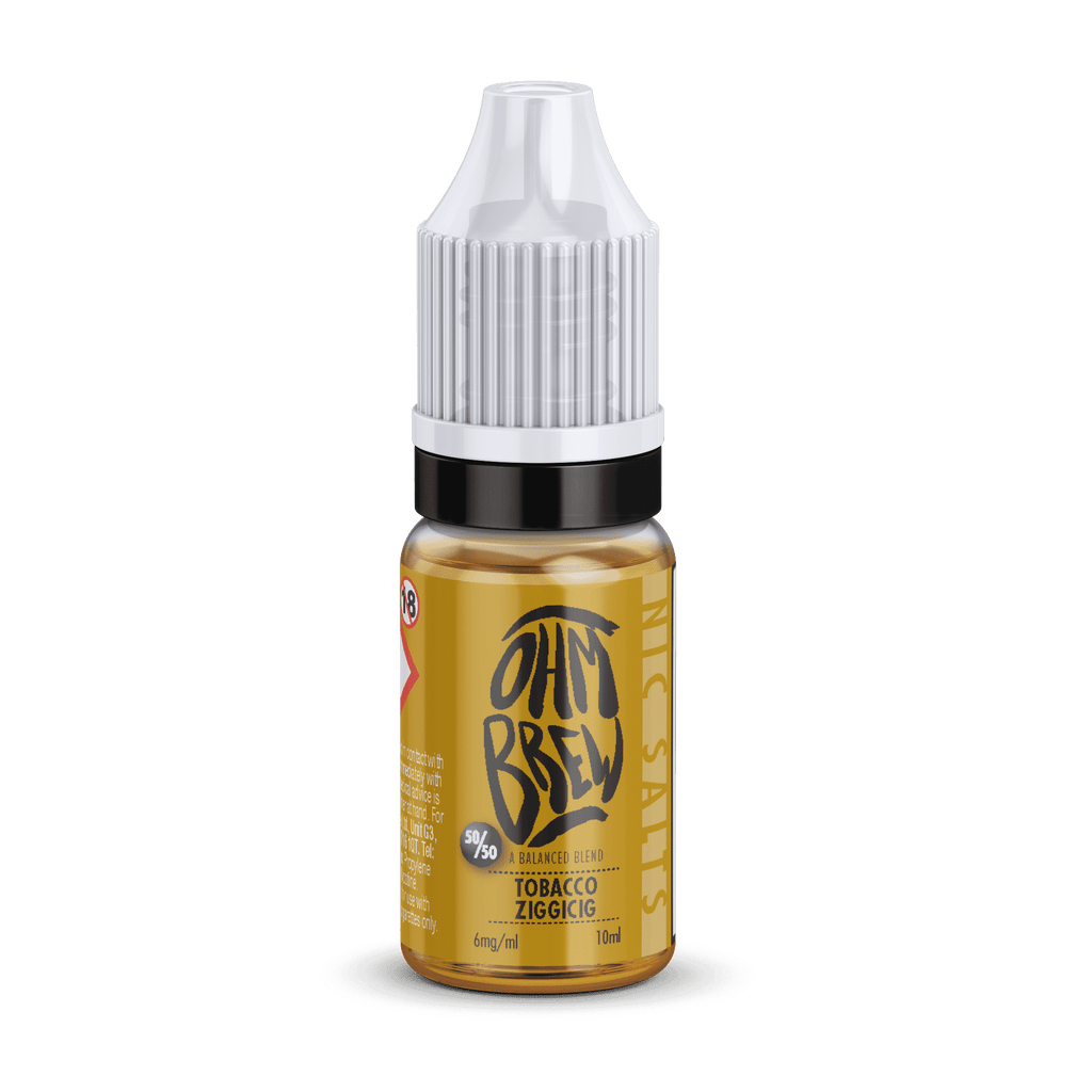 Tobacco Zigicig Nic Salt E-liquid by Ohm Brew