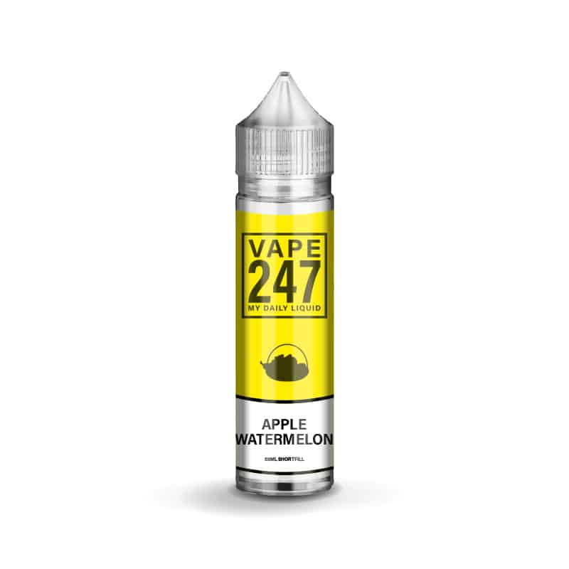 Apple and Watermelon E-liquid by Vape 247