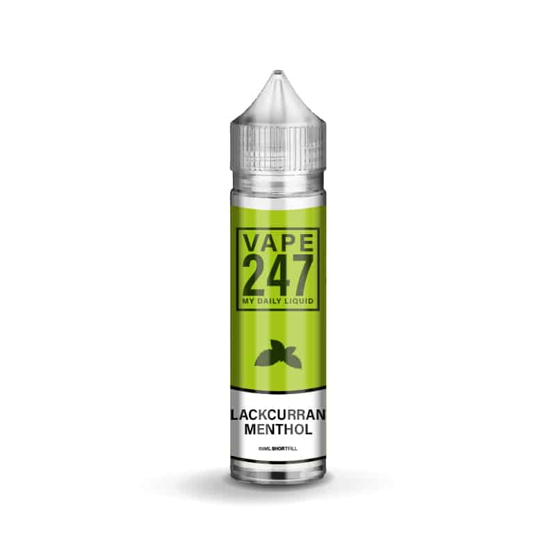 Blackcurrant Menthol E-liquid by Vape 247