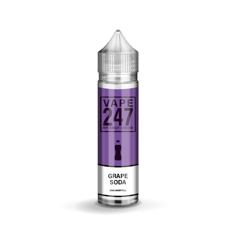 Grape Soda E-liquid by Vape 247