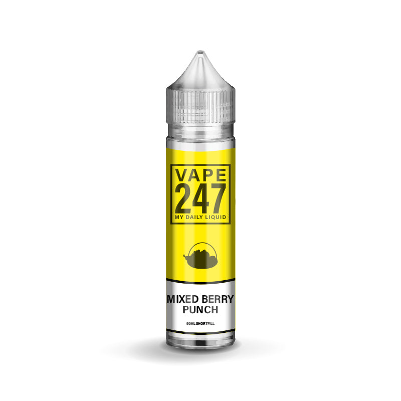 Mixed Berry Punch E-liquid by Vape 247