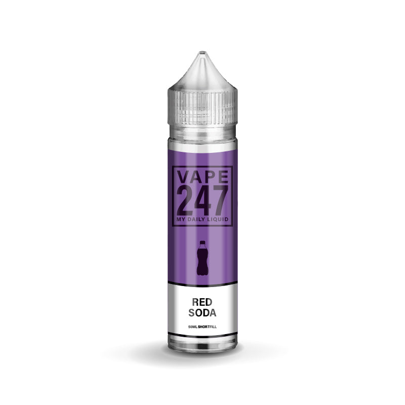 Red Soda E-liquid by Vape 247