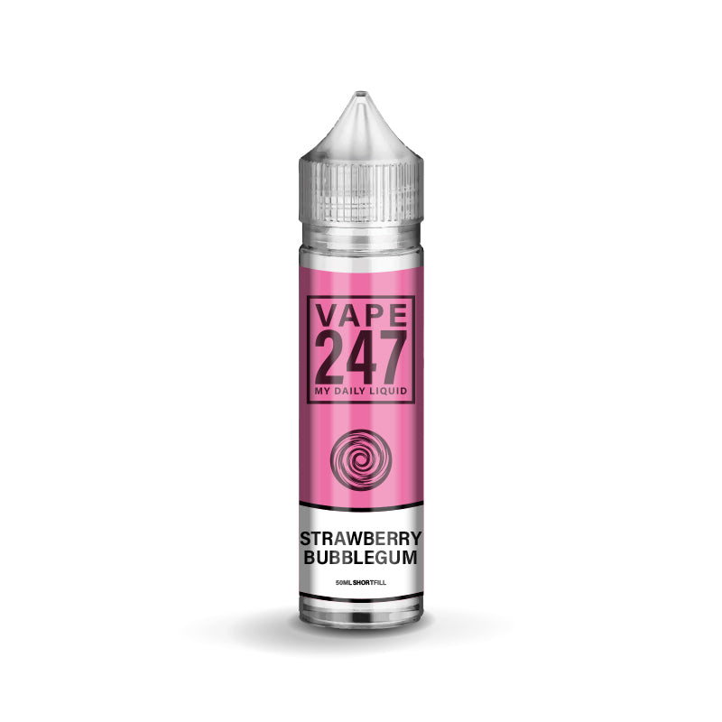 Strawberry Bubblegum E-liquid by Vape 247