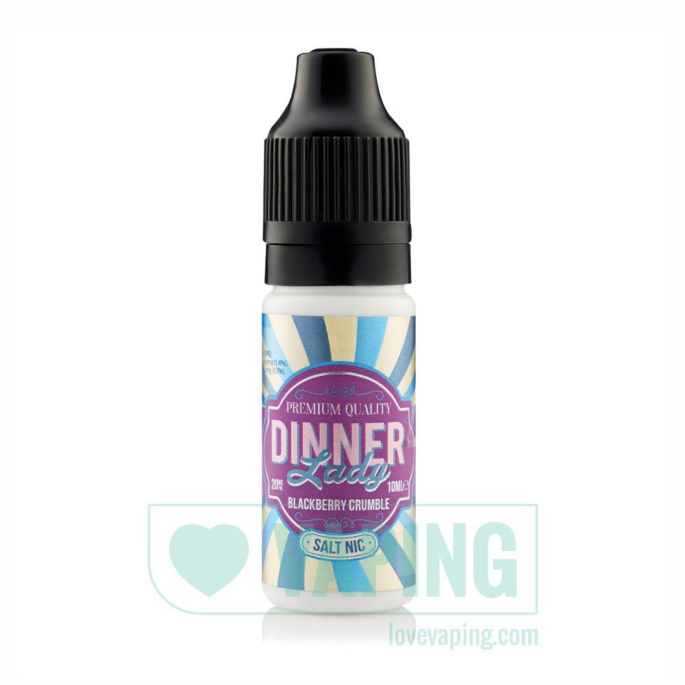 Blackberry Crumble Nic Salt E-liquid by Dinner Lady Nic Salt 01