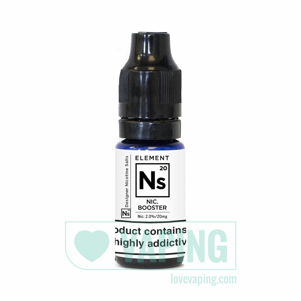 NS20 Nic Salt Booster by Element eLiquid 01