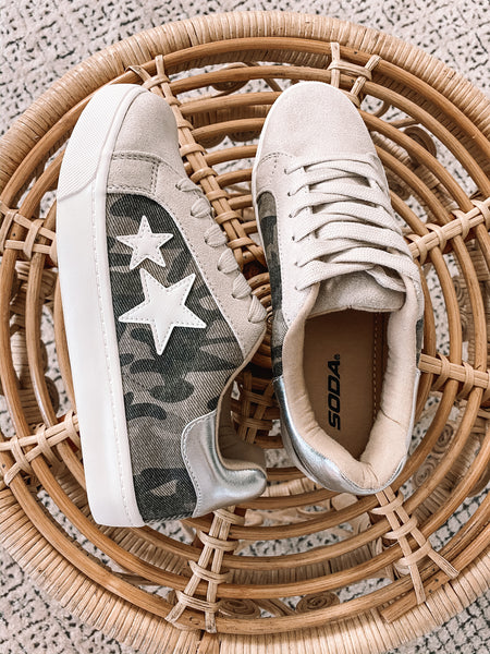 Camo Star Sneakers