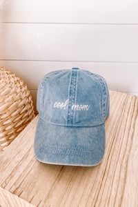 Denim Cool Mom Hat