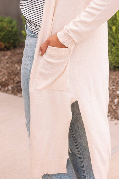 Duster Cardigan / Cream
