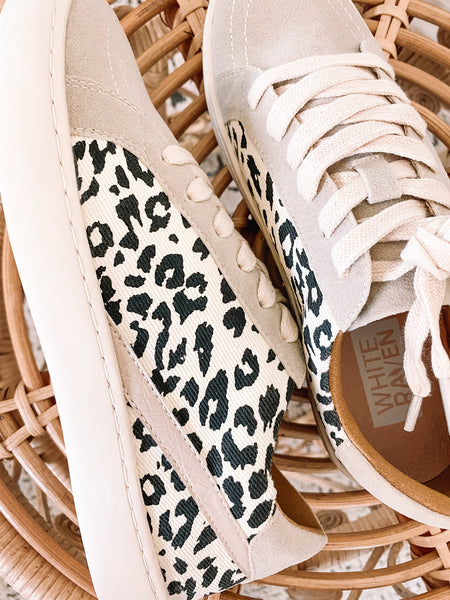 Neutral Leopard Sneakers
