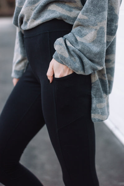 Softer Than Soft Leggings With Pockets // S-3XL