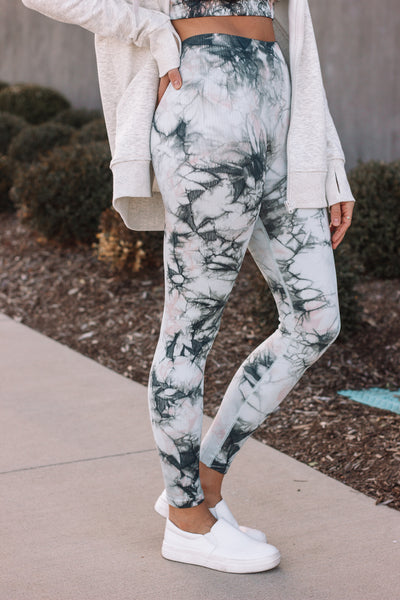 Leggings | Glass Tie Dye Two Piece Set