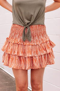 Smocked Ruffle Skirt | Final Sale