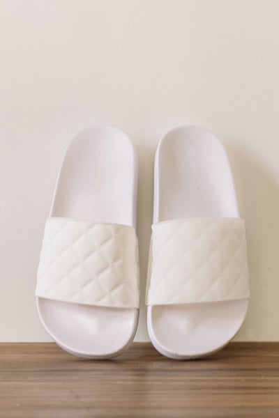 White Summer Slides