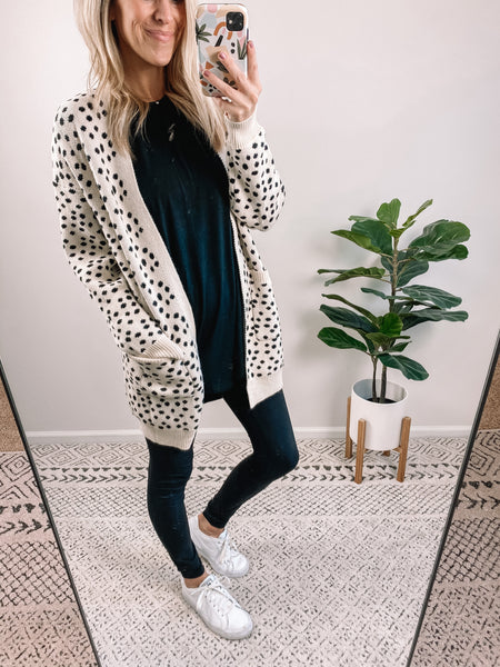 Dotted Cardigan