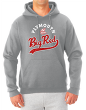 Load image into Gallery viewer, Big Red Sparkle Tail Hooded Sweatshirt