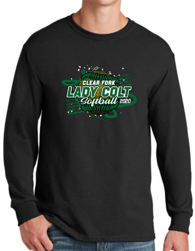 Clear Fork Softball Long Sleeve T-Shirt