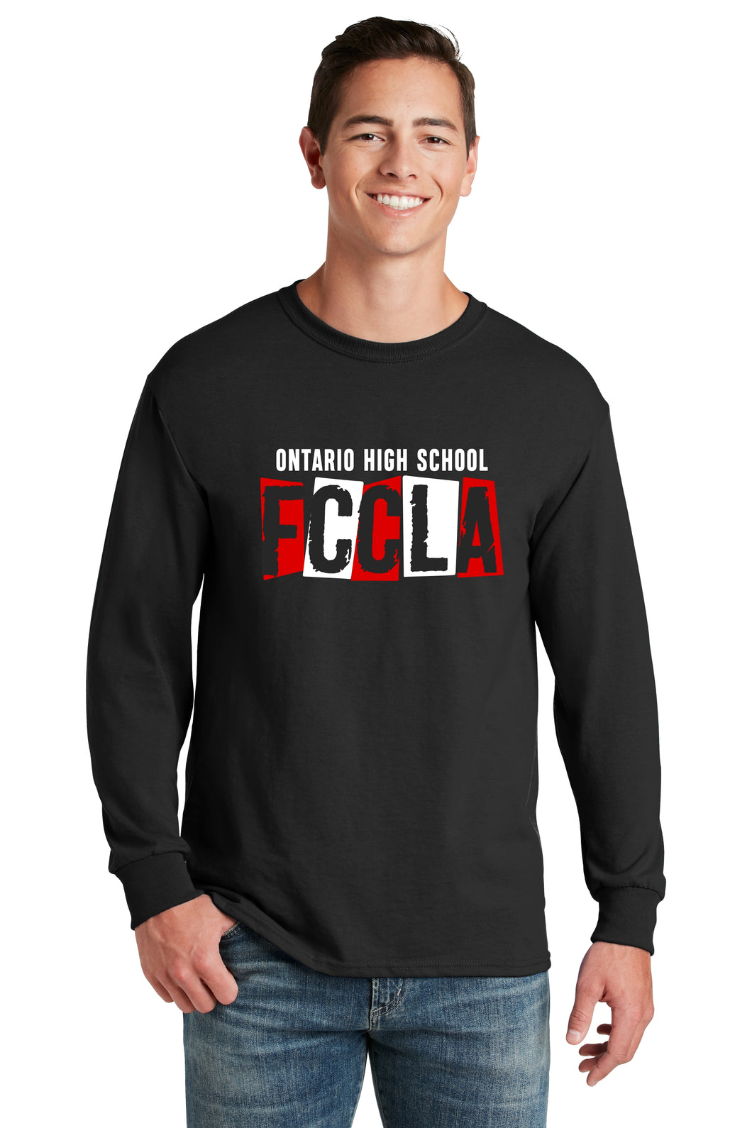 Ontario FCCLA Long sleeve T-shirt