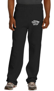 Clear Fork Softball Open Bottom Sweatpants