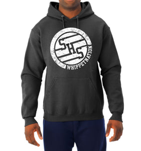 Whippet Nation White Circle Hoodie