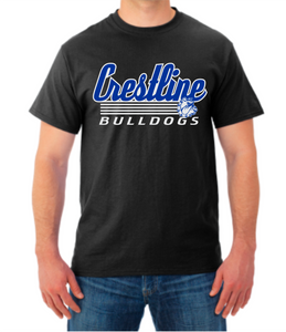 Crestline Bulldogs SD5 Tee Shirt