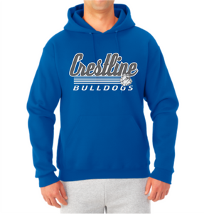 Crestline Bulldogs SD5 Hooded Sweatshirt